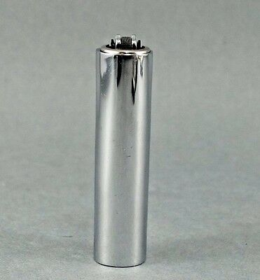 1 Original Polished Finish Micro Metal Clipper Lighter Case Plus 1 Free Lighter