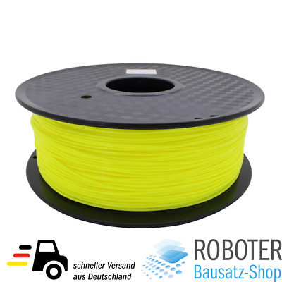 ANYCUBIC Eco PLA Filament gelb yellow 1.75mm 1kg 3D-Drucker Printer RepRap