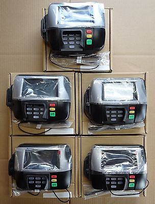 LOT (5) Verifone MX860 POS Point of Sale Credit Card Reader Terminal WAL-MART