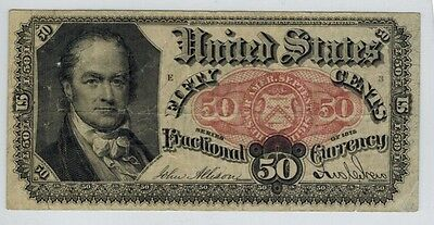 US. Fractional Currency 5th Issue Fifty Cents 50c Crawford