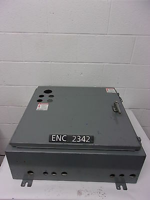 "Hoffman A12 Steel 21"" x 21"" x 8"" Industrial Control Panel Enclosure (ENC2342)"