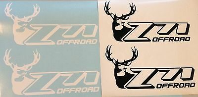 Custom Chevy Z71 Offroad Buck Decals *limited Edition* Replaces Factory Decals