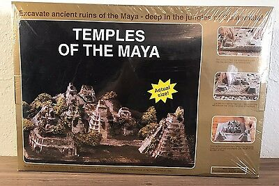 Nova Science Dig and Discover Mayan Ancient Ruins Excavation Toy - Large