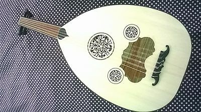 Turkish Nice Oud Lute New Good Quality - Electric Playable - With Accesories