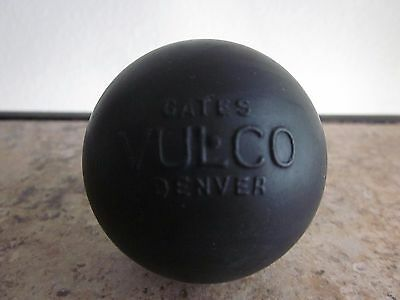 Vintage Rare VULCO Gates Rubber Co Ball Automobile Tires Advertising Nice