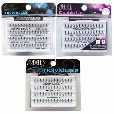Ardell Duralash Individual Lashes Black Echthaar Wimpern False Natural- Variante