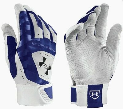 Under Armour UA Yard Baseball Batting Gloves Adult Mens Size Small