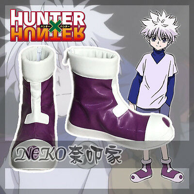 Nekocos Hunter X Hunter Killua Zoldyck Cosplay Shoes Custom Made