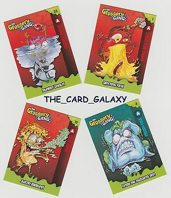 New Grossery Gang Season 1 Complete 52 Card Common Card Set