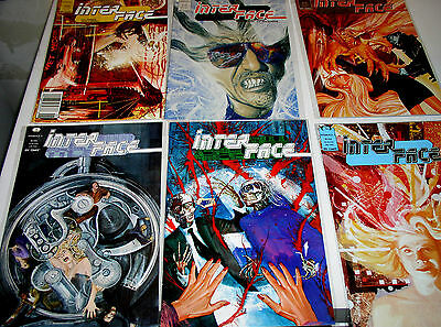 Interface -  1 2 3 4 5 6 7 And 8 Of 8  Set Epic Comics 19891990