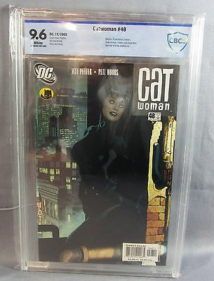 CATWOMAN #48 (Adam Hughes Cover) White Pages CBCS 9.6 NM+ DC 2005 cgc