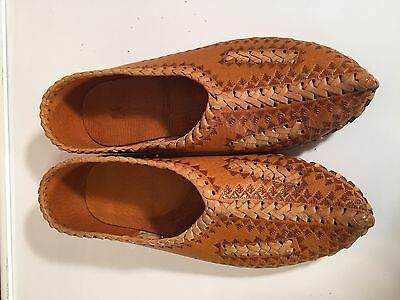 Polish Folk Shoes Highlander Leather Kierpce Size EU 37