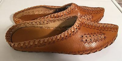 Polish Traditional Folk Shoes Womens Highlander Leather Kierpce