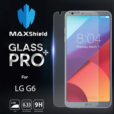 Genine Maxshield Tempered Glass Screen Protector For Lg G6