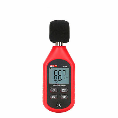 UNI-T UT353 Mini Digital Sound Level Meters 30-130dB Instrumentation Noise Meter