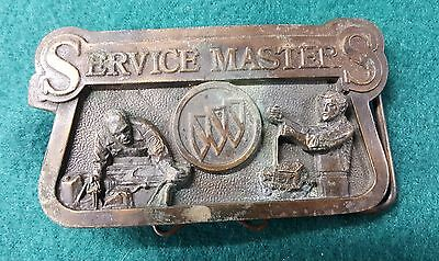 Buick Service Master Vintage Belt Buckle RARE Limted Edition #4881