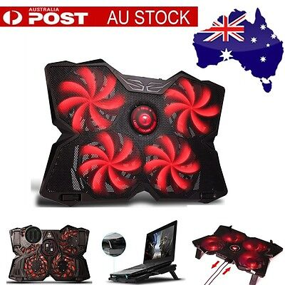 Marvo FN-30 Origina Double USB 4 Fans Computer Laptop Cooling Pad Cooler Pad Red