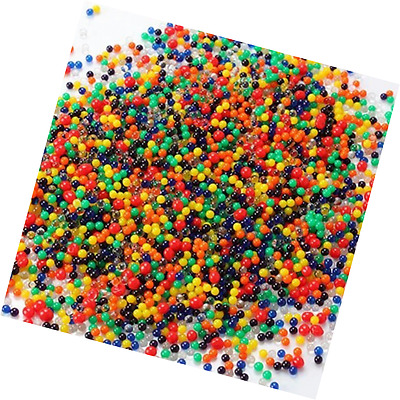 5000 Mixed Colors Crystal Water Gel Beads Pearl Plant Soil Vase Filler Non Toxic