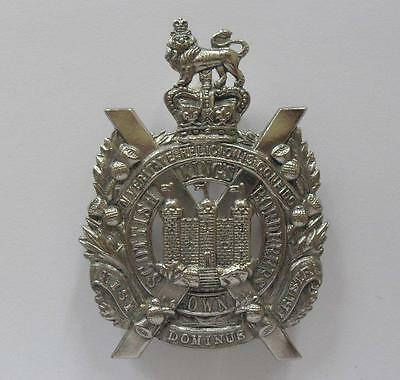 British Army Cap Badge. The King's Own Scottish Borderers.