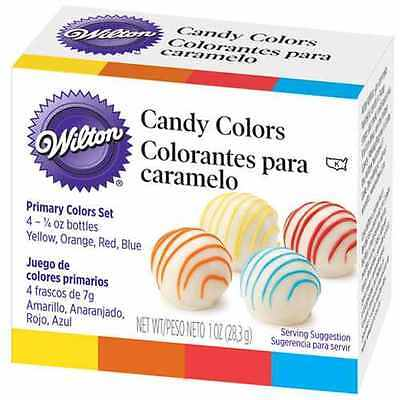 Wilton Candy Colors 4 x 7 g (Oil Based)