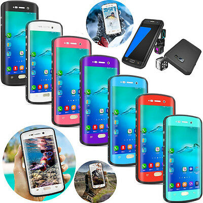 Redpepper Shockproof Waterproof Case For Samsung GALAXY S6 Edge Plus/S7 Edge
