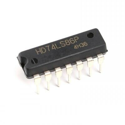5pcs HD74LS86 Quadruple 2-input Exclusive-OR XOR Logic - Gates DIP-14
