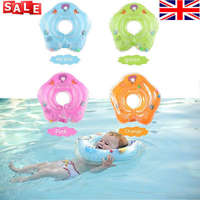 2017 Baby Swimming Neck Float Inflatable Ring Adjustable Safety Aids 1-18 Months