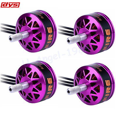 4pcs DYS Fire 2206 2-4S Brushless Motor 2CW 2CCW For 200 210 220 280 FPV Frame
