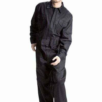 Cotton BOILER SUIT OVERALL COVERALL Mechanic College Work Lab MENS Cloth Size L