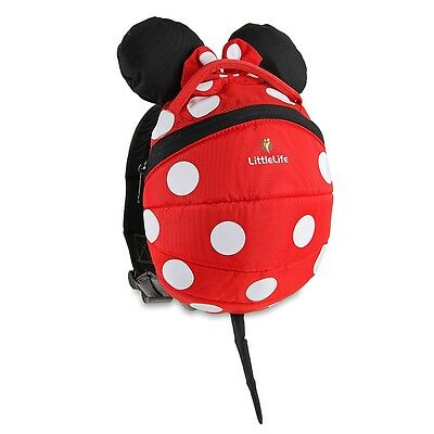 LittleLife Minnie Mouse Toddler Daysack, Childrens Rucksack Backpack School Bag