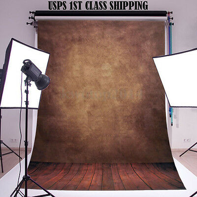 5x7ft Abstract Retro Brown Studio Photography Backdrops Prop Photo Background
