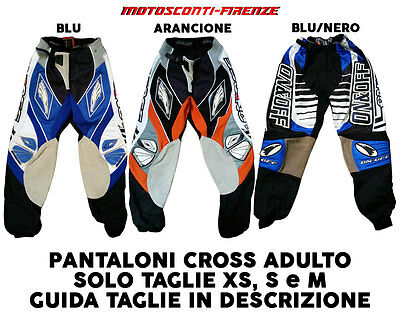 Pantaloni Cross Adulto On&Off
