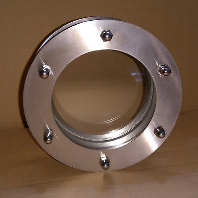 PORTHOLE FOR DOORS STAINLESS STEEL phi 150 mm flat