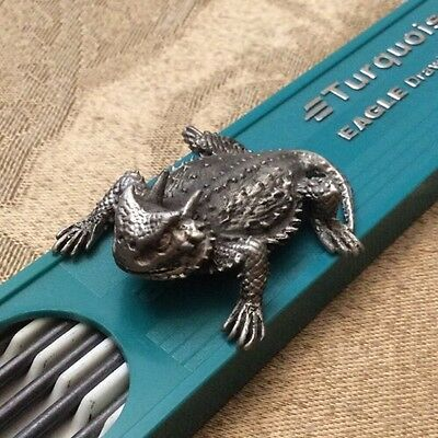 Horny Toad Pewter Collectable Figurine Southwest Toadland 1999