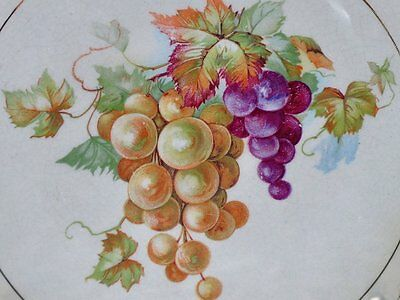 1911 McNicol Carnation Plate Wise Smith & Co Hartford CT Advertising Plate Grape