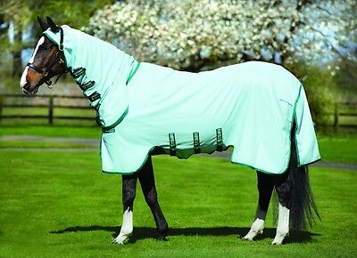 "Horseware Rambo SWEET ITCH HOODY SweetItch Fly Protection Rug + Mask 5'6""-7'3"""