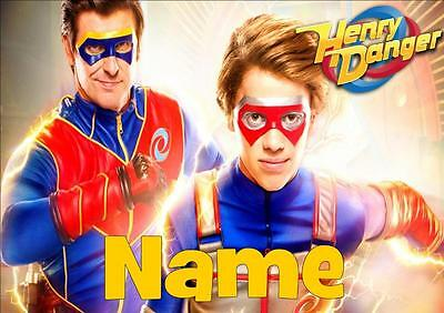 Henry Danger Personalised Placemat