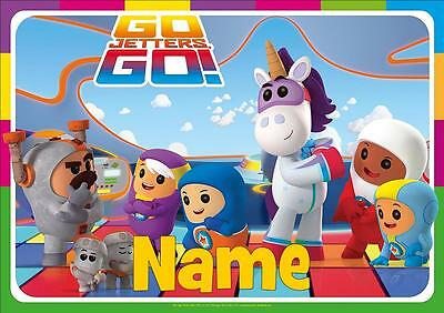 Go Jetters  Personalised Placemat