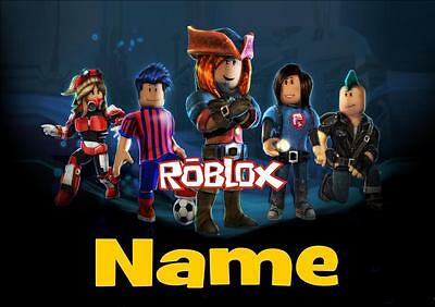 Roblox Personalised Placemat