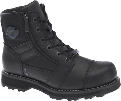 Harley-Davidson Men's Bonham 6.25-Inch Blacked-Out Motorcycle Boots D93369