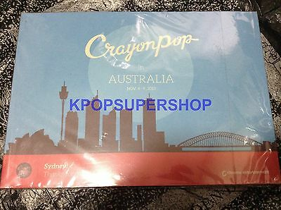 CRAYON POP IN Australia Photobook NEW KPOP RARE Bar FM Radio Streets Go  Disco