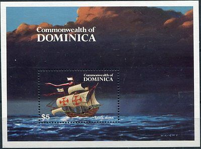 dominica 1984 bf 89 caravelle MHN