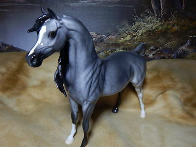 "Peter Stone Arabian Model Horse-2016  "" Hezablubabe ""  OOAK  (Price Drop)"