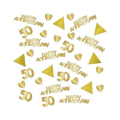 Golden Wedding Table Confetti 50th Anniversary Table Decorations Extra Large Bag