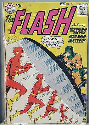 Flash 109 - 2nd Appearance Mirror Master