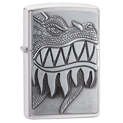 Zippo 28969 Genuine Refillable Windproof Lighter - Fire Breathing Dragon