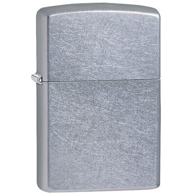 Zippo 207 Genuine Refillable Windproof Lighter - Street Chrome