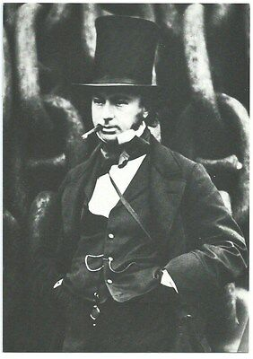 REPRO Picture. Isambard Kingdom Brunel F.R.S. 1806 - 1859. Unused. Ref:73115