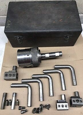 """PRECISION UNIVERSAL TOOL BORING / FACING HEAD WITH KIT ACCESSORY  1"""" Shank"""