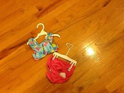 Girls Wee Wave bathing suit size 6-12 months two-piece